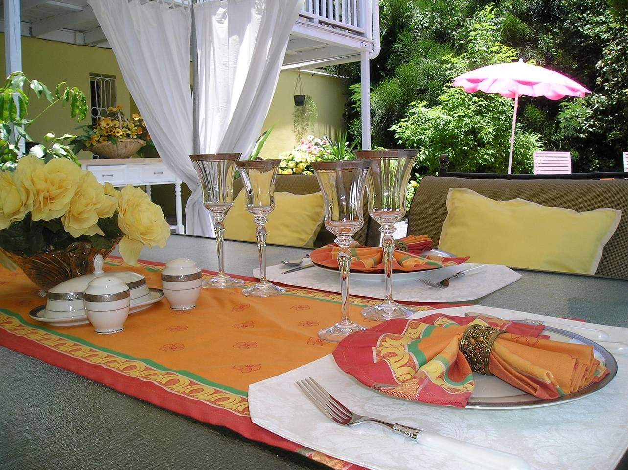 Calypso Suite - Outdoor Dining